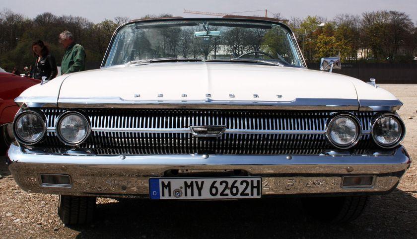 1962 Mercury Monterey convertible