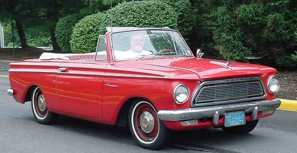 1962 Rambler American - 2-door convertible