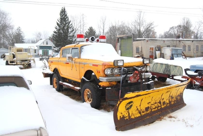 1962 Rambler Snow Plow Trar