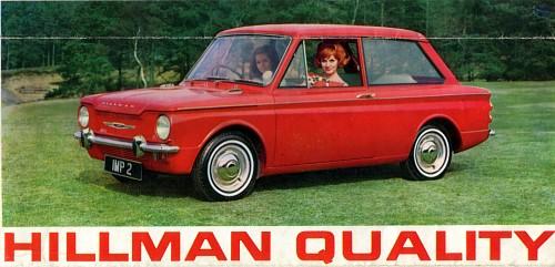 1963 hillman imp range 3