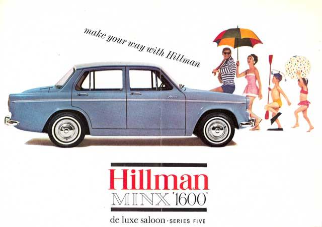 1963 Hillman Minx 1600