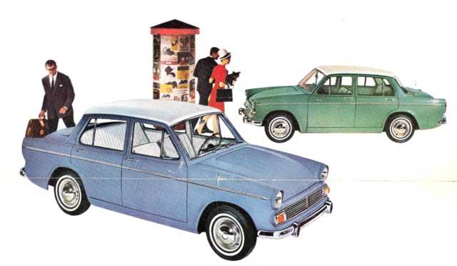 1963 Hillman Minx 1600a