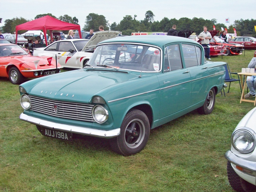1963 Hillman Super Minx Ser.II Engine 1592cc S4