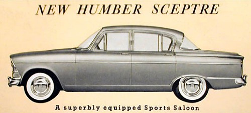 1963 humber sceptre