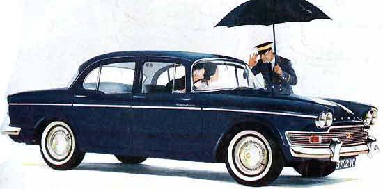 1963 Humber super-snipe