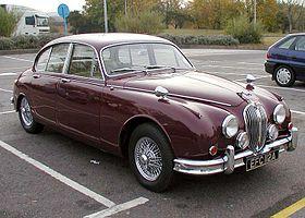 1963 Jaguar 3,4litre MkII