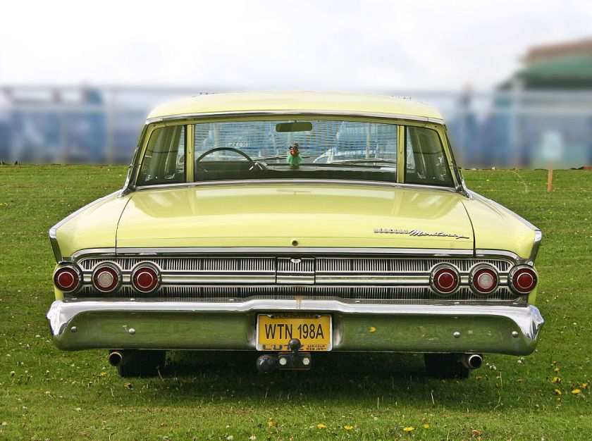 1963 Mercury Monterey 4door Hardtop tail