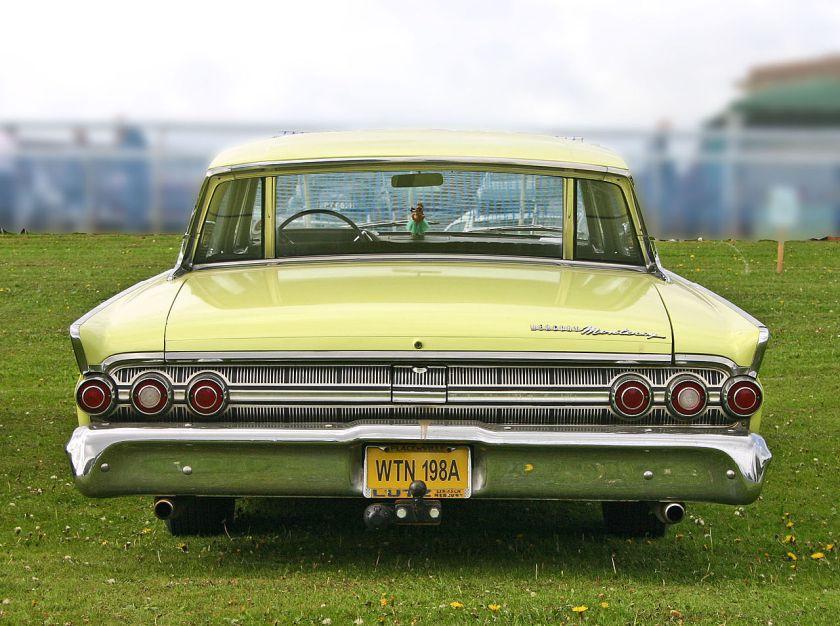 1963 Mercury Monterey 4door Hardtop tail