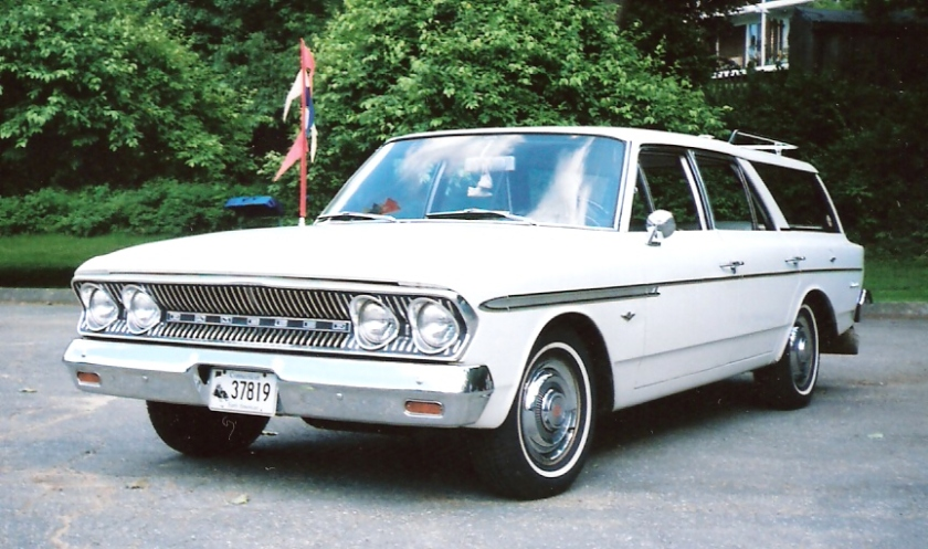 1963 Rambler Classic 660 Cross Country station wagon
