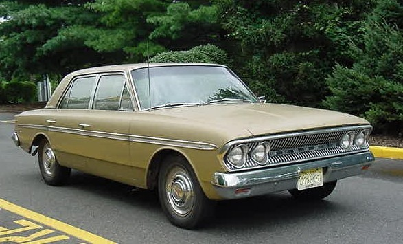 1963 Rambler Classic 770 four-door gold-NJ