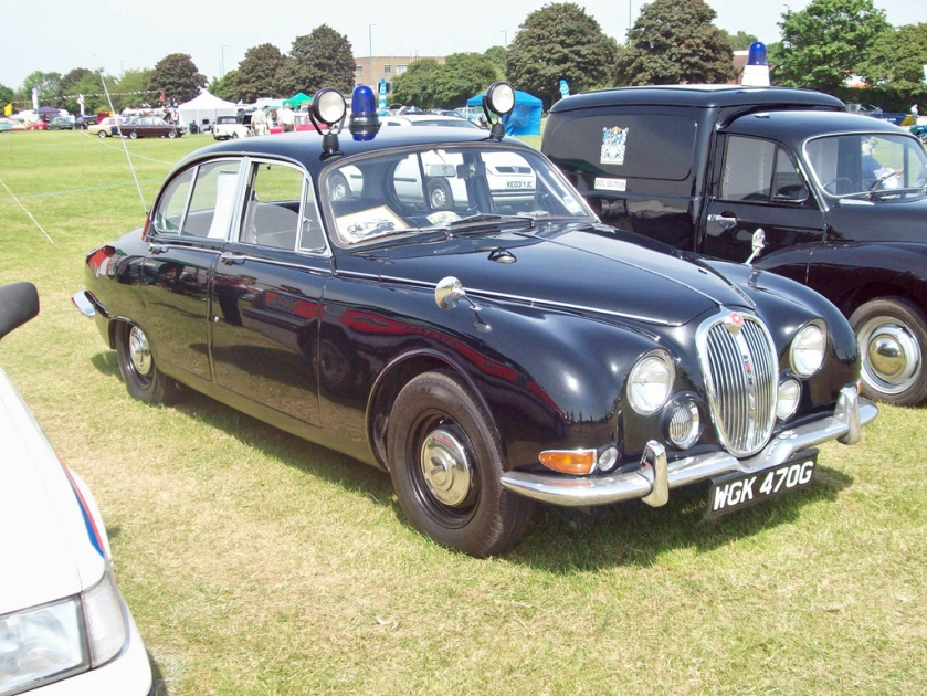 1964-68 Jaguar S type 3.8 3781 cc straight six Production