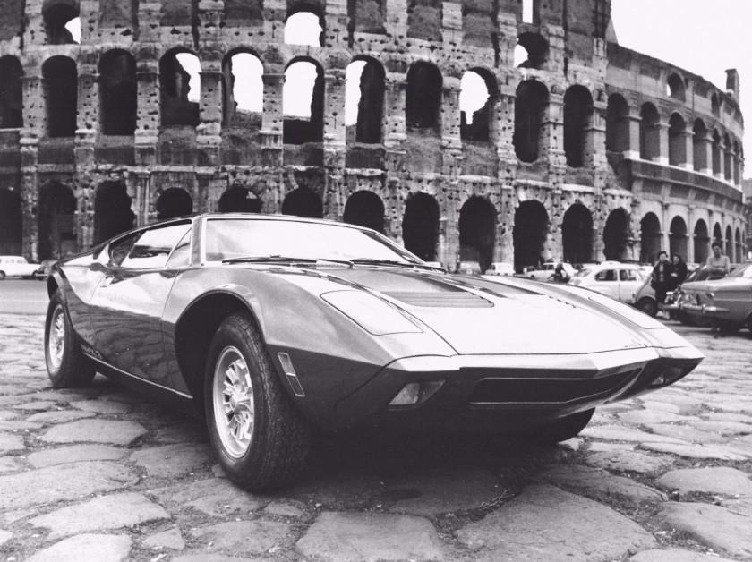 1964 AMC AMX Vignale Concept Car BW