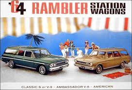 1964 AMC Rambler Station Wagons