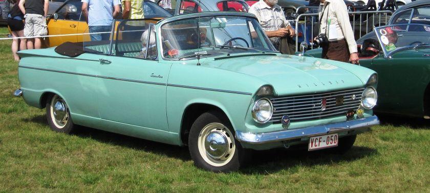 1964 Hillman Super Minx cabriolet
