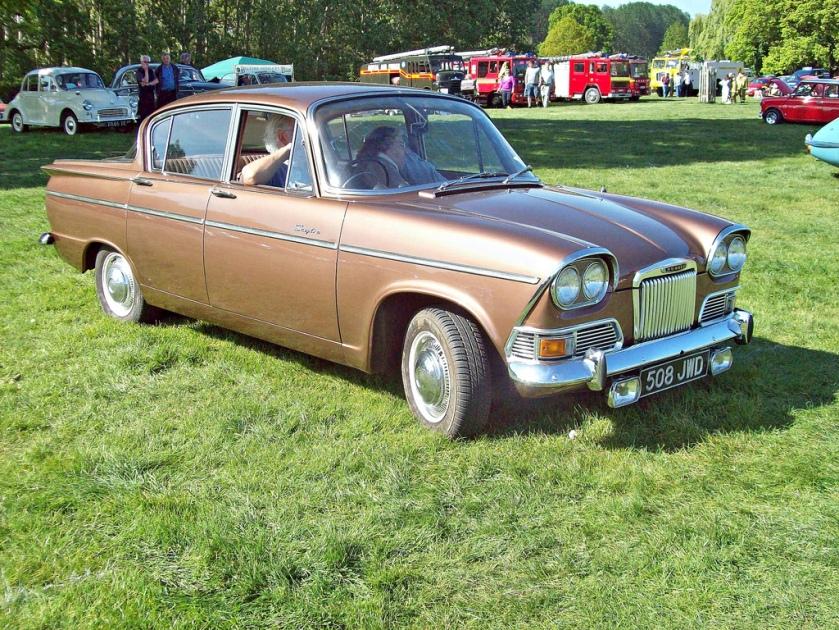 1964 Humber Sceptre i Engine 1592cc S4