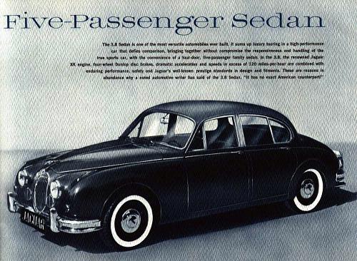 1964 jaguar mk II 3,4 litre