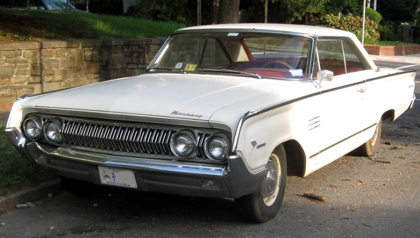 1964 Mercury Marauder photographed in Washington, D.C., USA.