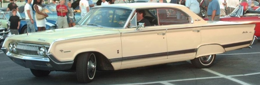 1964 Mercury Park Lane 4-door Hardtop with Maurader package