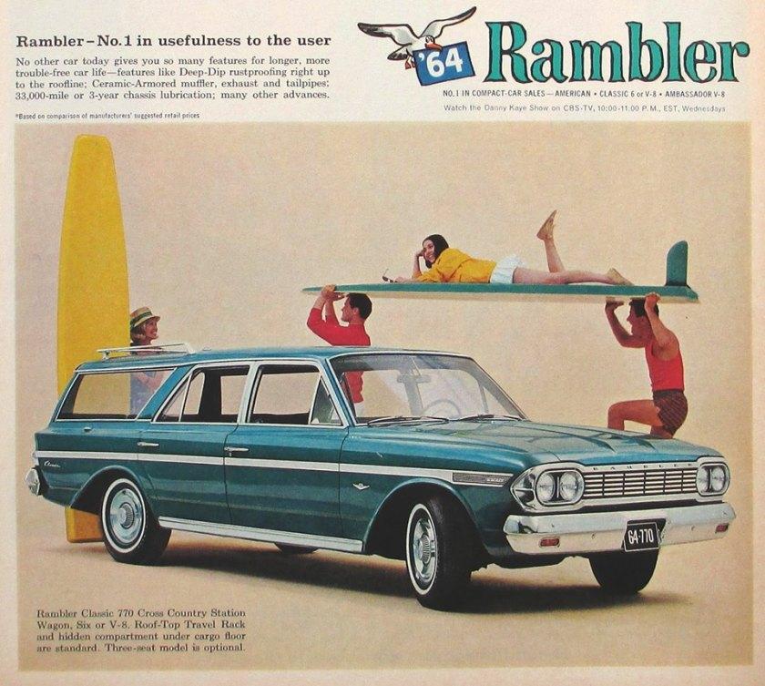 1964 Rambler Classic 770 Cross Country wagon