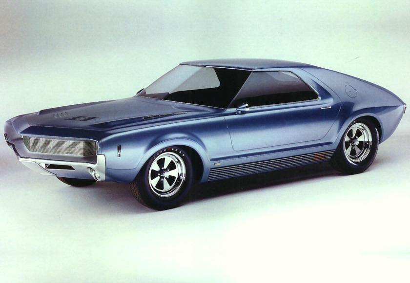 1965 AMC AMX I Concept Car Frt Qtr
