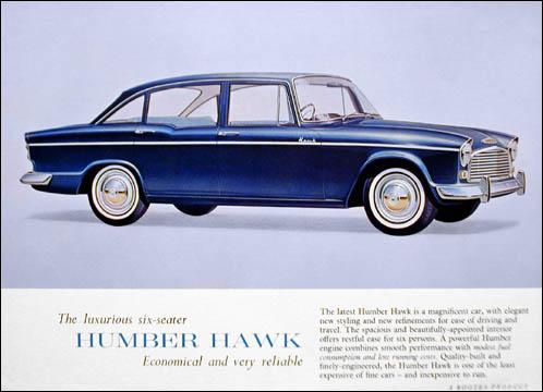 1965 humber hawk