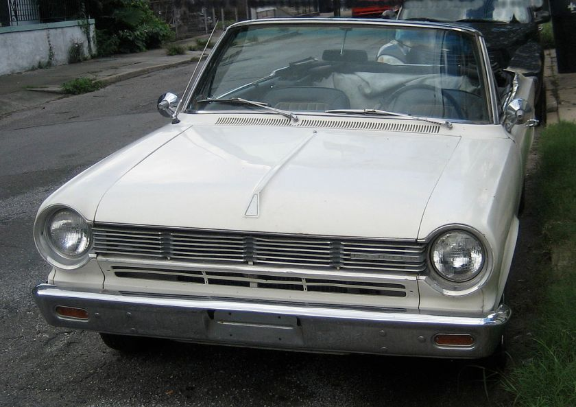 1965 Rambler 440 Convertable Front Cropped