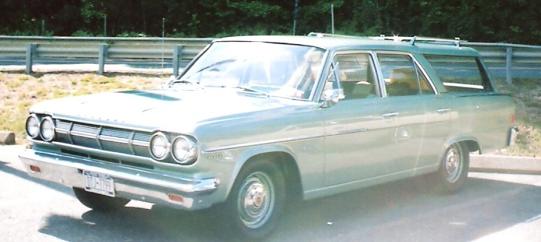 1965 Rambler Classic 660 Cross Country station wagon