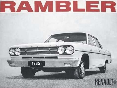 1965 Renault Rambler sales brochure