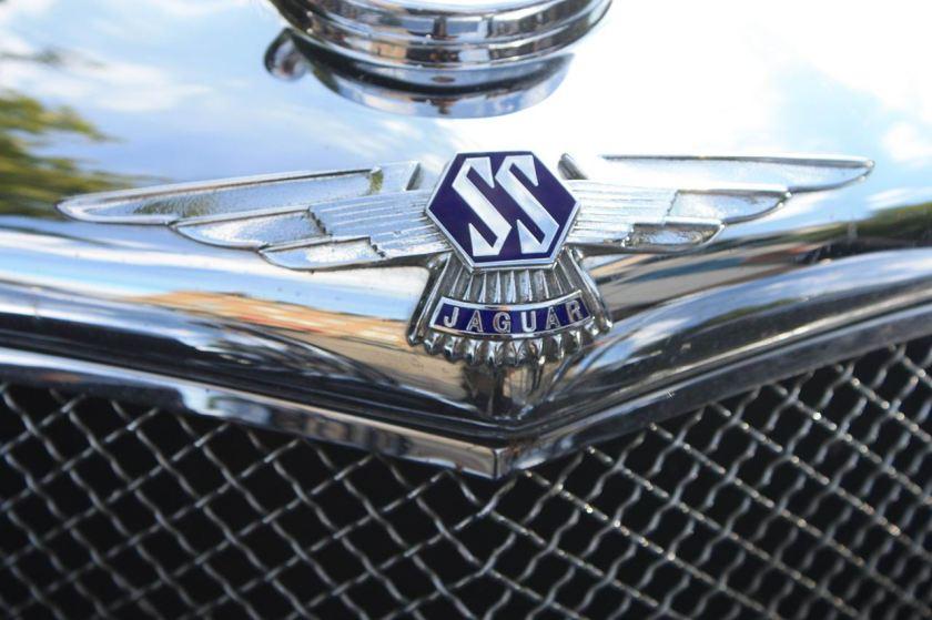 1965 SS Jaguar marque