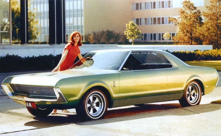 1966 AMC AMX II Project IV Concept Car Frt Qtr