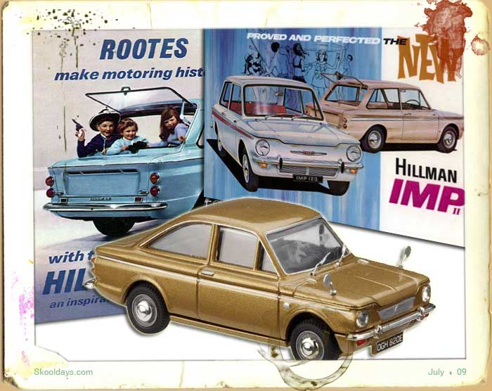1966 Hillman Imp Ad