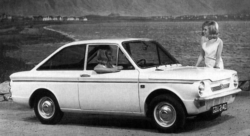 1966 hillman imp californian