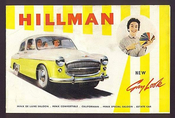 1966 Hillman Minx Ad