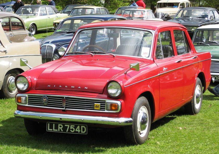 1966 Hillman Minx series VI 1725cc