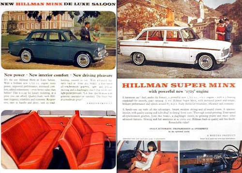 1966 hillman minx VI