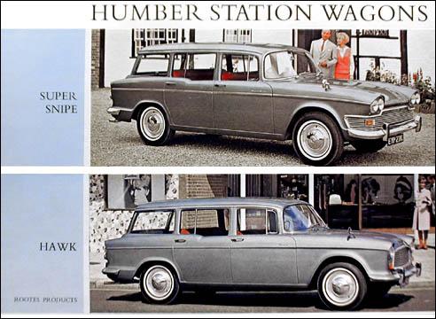1966 humber wagons