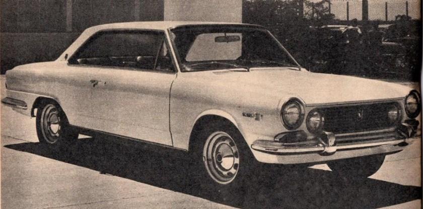1966 Kaiser IKA el Torino