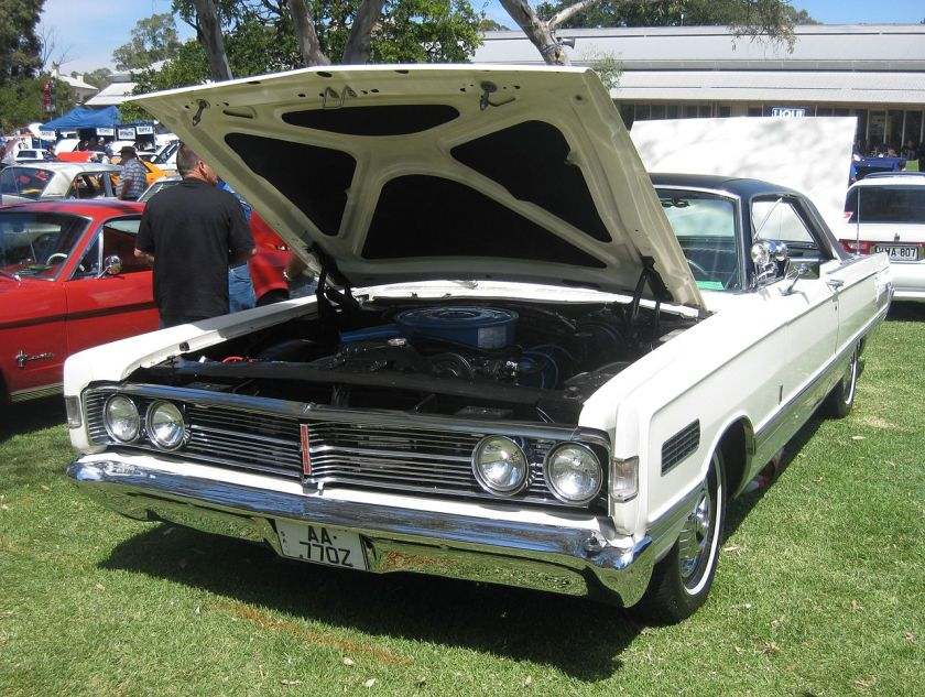 1966 Mercury Park Lane 2-Door Hardtop