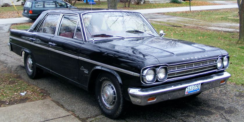 1966 Rambler Classic 770 Sedan dark blue 77066
