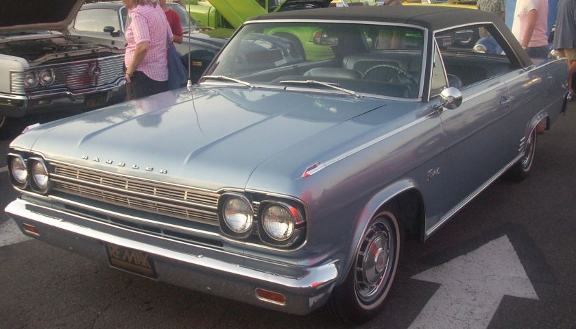 1966 Rambler Rebel 2-door hardtop