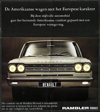1966 Rambler Renault ad