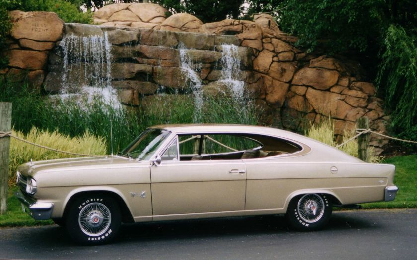 1966_AMC_Marlin_fastback_tan_side_view