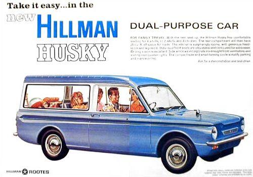 1967 hillman husky