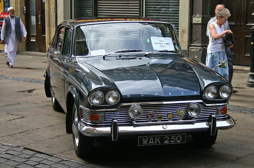 1967 Humber Super Snipe V Saloon with larger windscreen