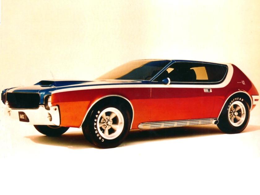 1968 AMC AMX GT Concept Car Frt Qtr