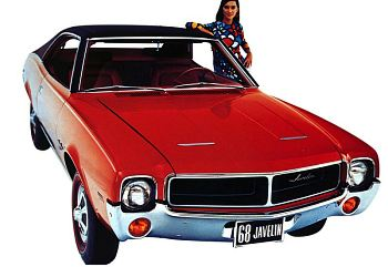 1968 Amc javelin sst sport coupe