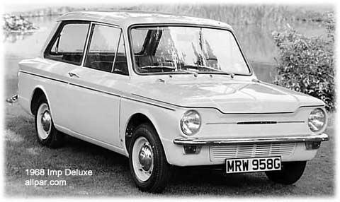 1968 Hillmann Imp-de luxe