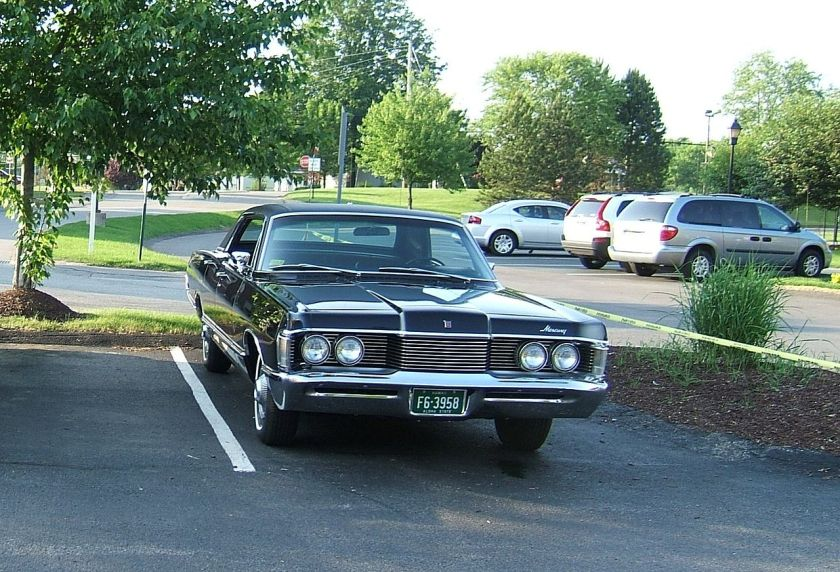 1968 Mercury Park Lane Brougham 4-door hardtop