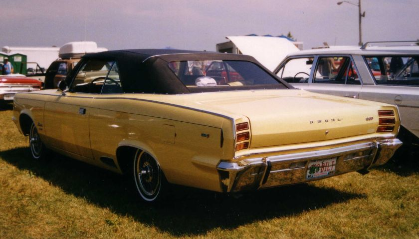 1968_AMC_Rebel_convertible_rear