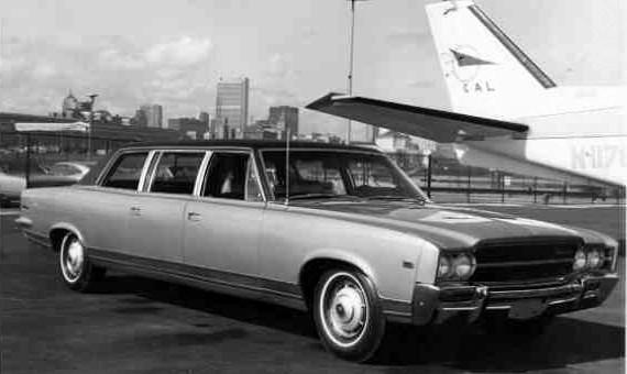 1969 AMC Ambassador SST 4d Limo